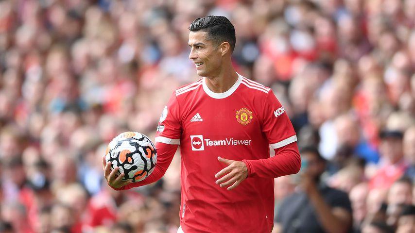 Cristiano Ronaldo bei seinem Comeback für Manchester United