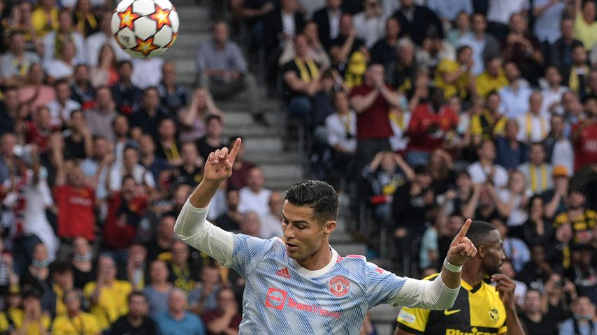 Cristiano Ronaldo bei einem Uefa-Champions-League-Spiel im September 2021