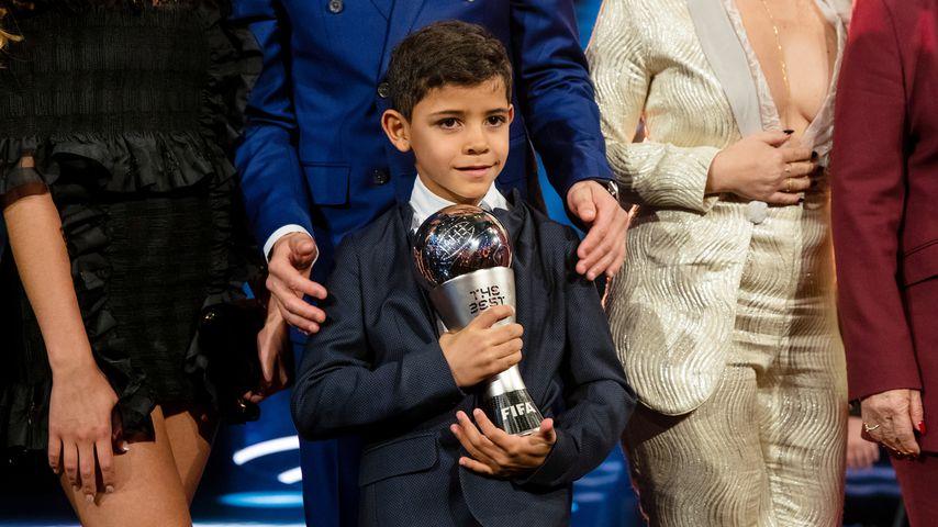 Cristiano Ronaldo Jr. im Januar 2017