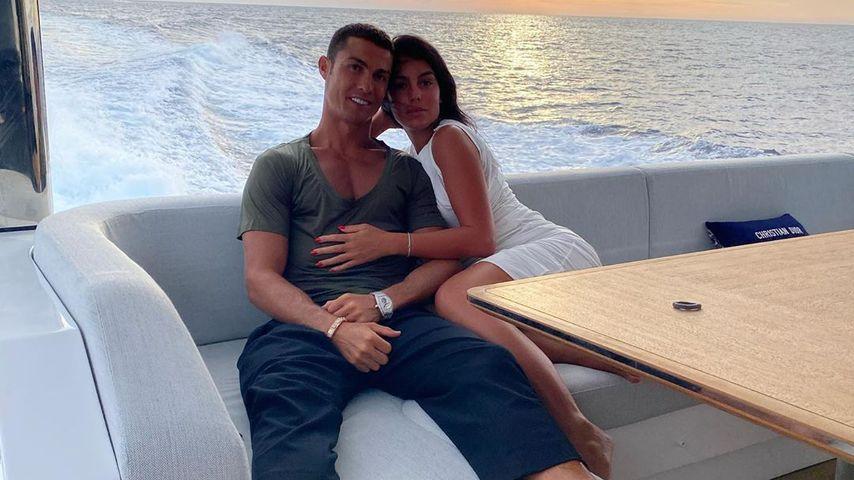 Cristiano Ronaldo und Georgina Rodríguez im August 2020