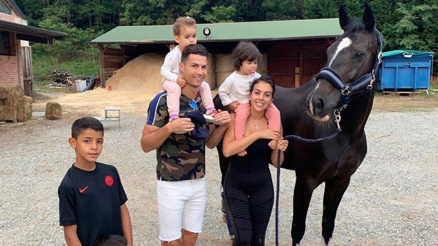 Cristiano Ronaldo und seine Familie