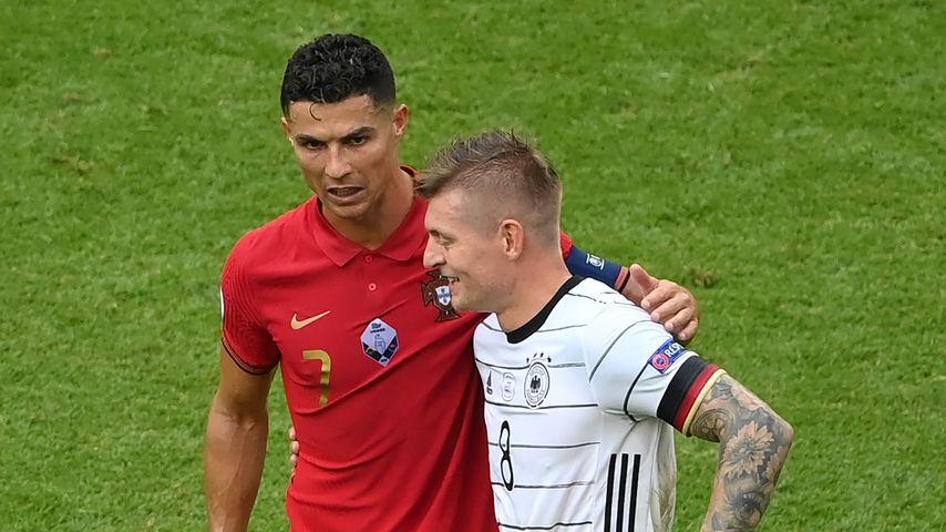 Nach EM-Sieg: Darüber plauderten Ronaldo und Toni Kroos!