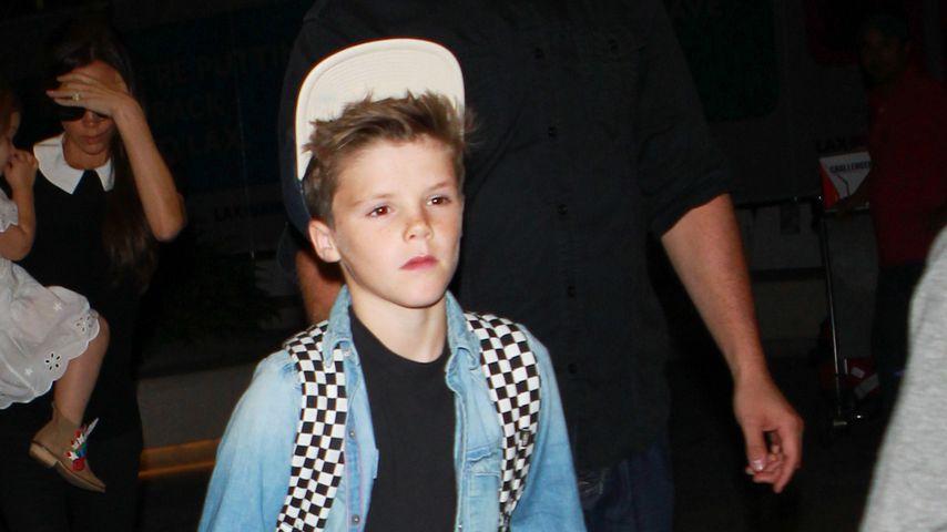Cruz Beckham am Flughafen von Los Angeles