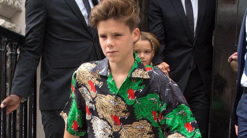 Cruz Beckham auf der London Fashion Week