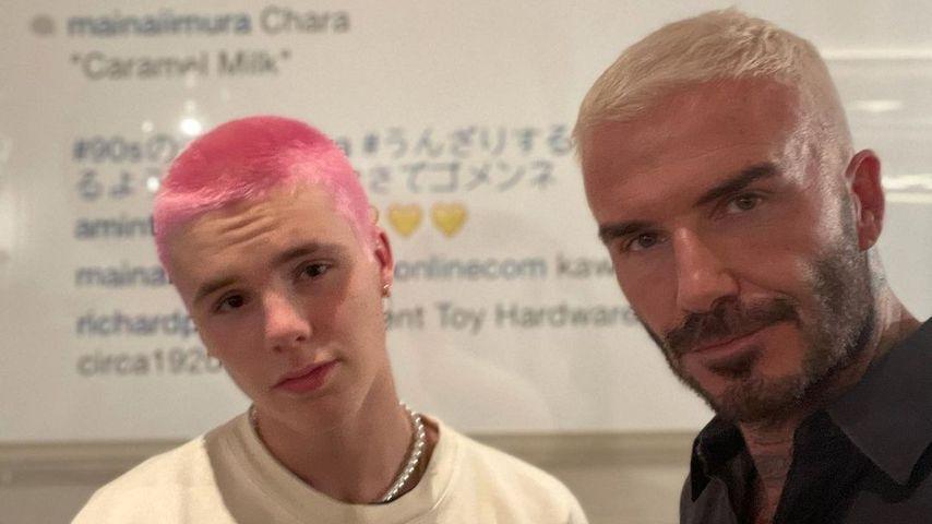 Cruz und David Beckham