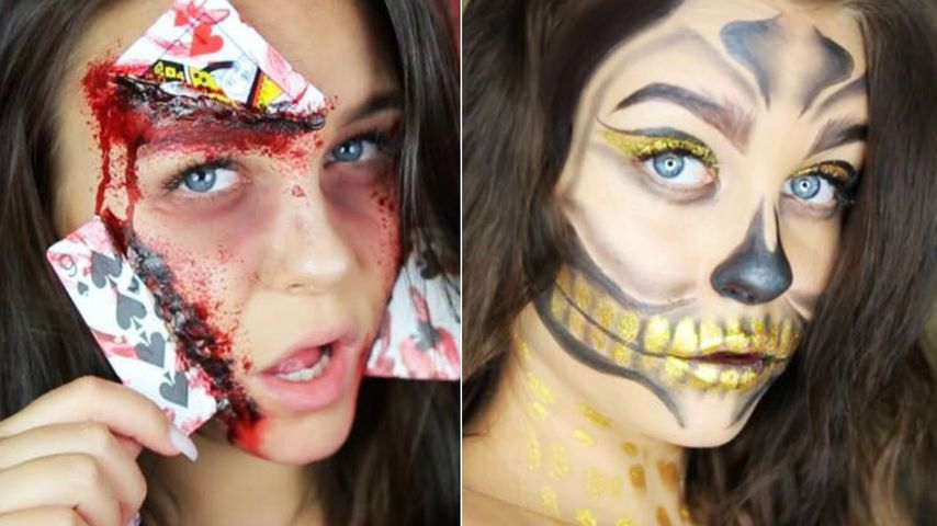 Grusel-Queen Dagi Bee: Das sind ihre krassen Halloween-Looks