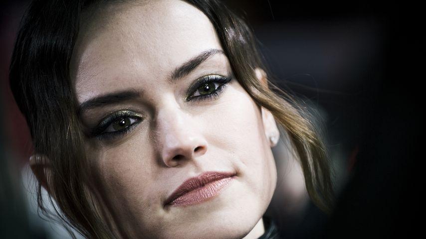 """Daisy Ridley bei der Europapremiere von """"Star Wars: Die letzten Jedi"""""""