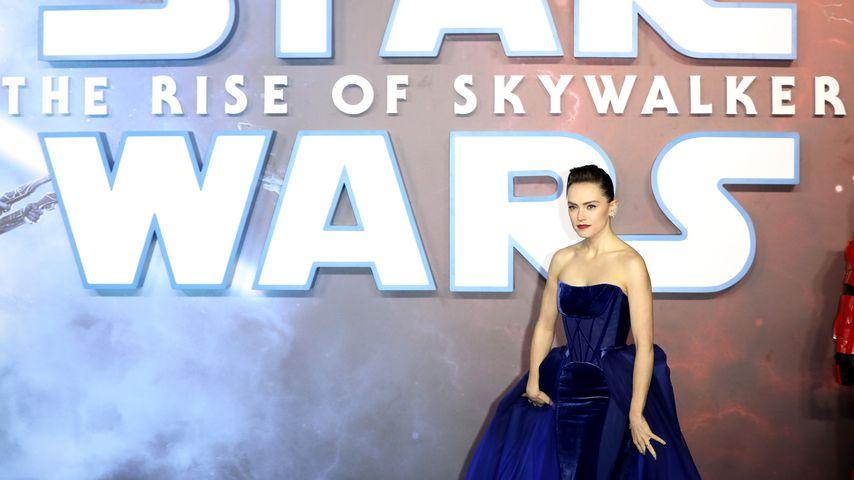 """Daisy Ridley bei einer """"Star Wars""""-Premiere 2019 in London"""