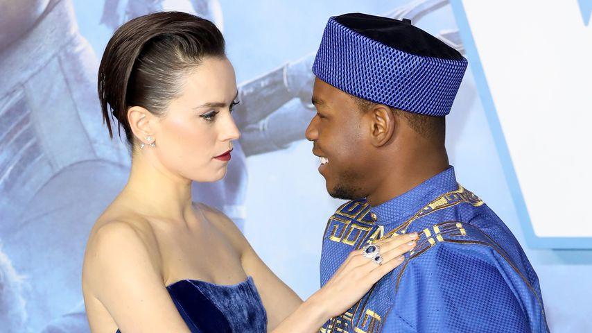 Daisy Ridley und John Boyega