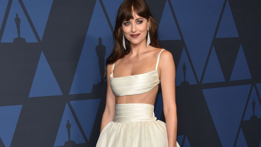 Dakota Johnson auf einer Gala in Hollywood im Oktober 2019