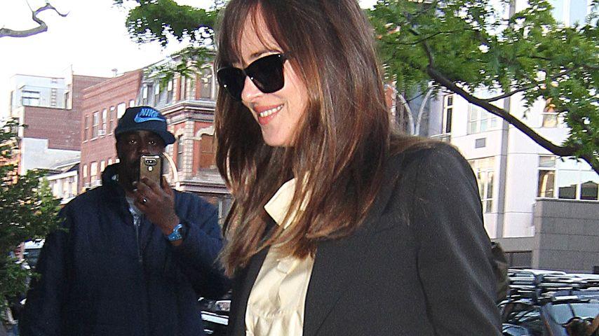 Dakota Johnson in New York