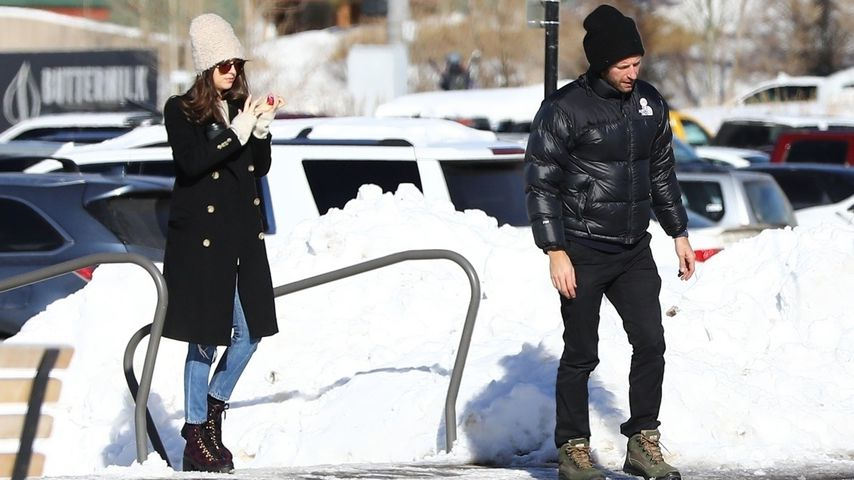 Dakota Johnson und Chris Martin in Aspen