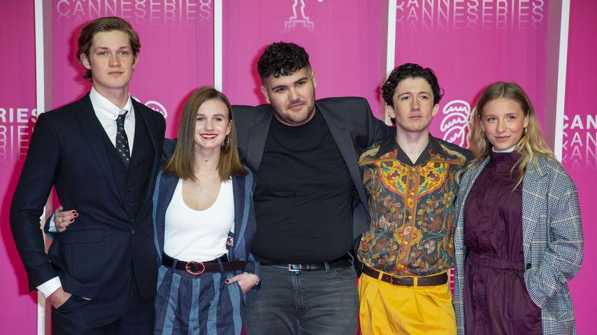 Damian Hardung, Leonie Wesselow, Danilo Kameridis, Maximilian Mundt und Lena Klenke