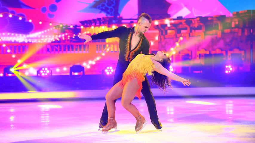 """Dancing on Ice""-Kandidaten Eric Stehfest und Amani Fancy"