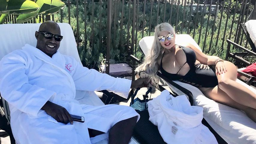 Daniel Charlier und Sophia Vegas in Kalifornien