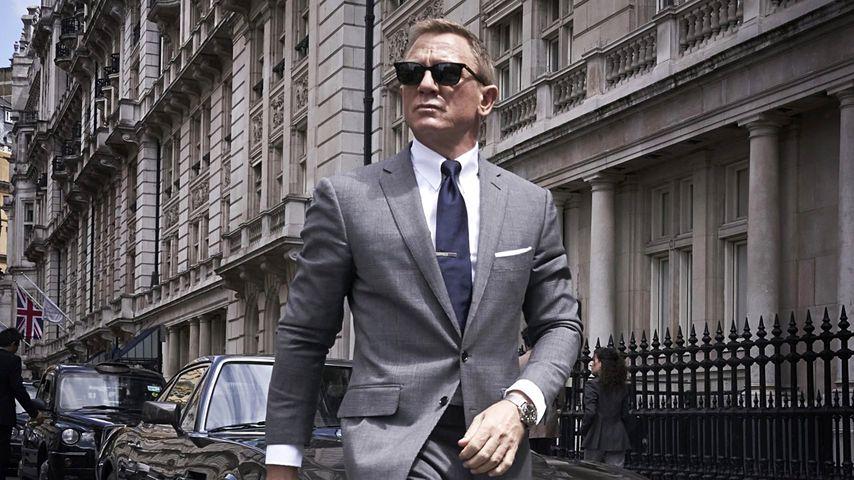 """Daniel Craig für den James-Bond-Film """"No Time To Die"""""""