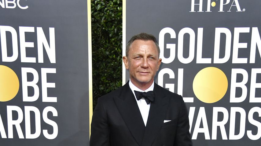 Daniel Craig bei den Golden Globe Awards in Beverly Hills im Januar 2020