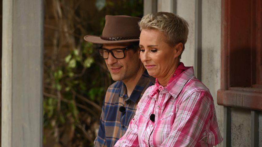 Daniel Hartwich und Sonja Zietlow an Tag 14 im Dschungelcamp
