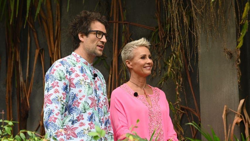 Daniel Hartwich und Sonja Zietlow an Tag 9 im Dschungelcamp 2020