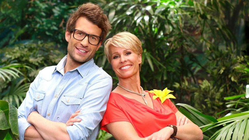 Daniel Hartwich und Sonja Zietlow für das Dschungelcamp 2014