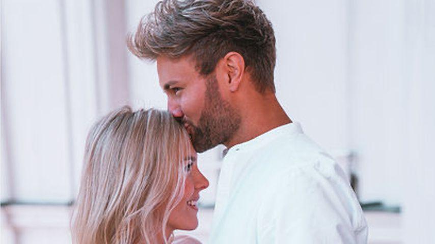 Daniel Lott mit seiner Freundin Eva