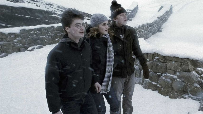 """Daniel Radcliffe, Emma Watson und Rupert Grint in """"Harry Potter und der Halbblutprinz"""""""