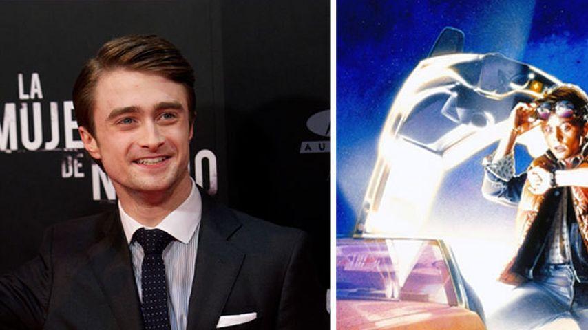 """Daniel Radcliffe will """"Zurück in die Zukunft"""""""