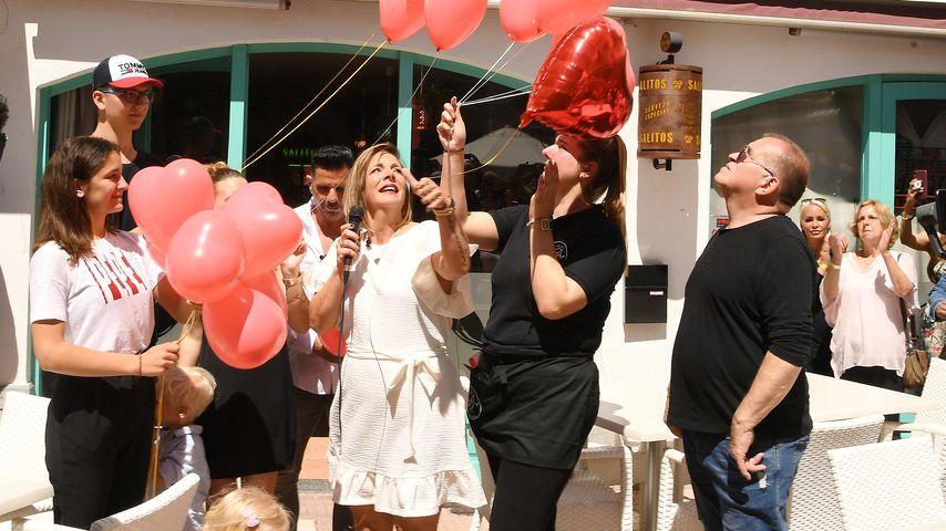 Daniela Büchner bei der Eröffnung der Faneteria