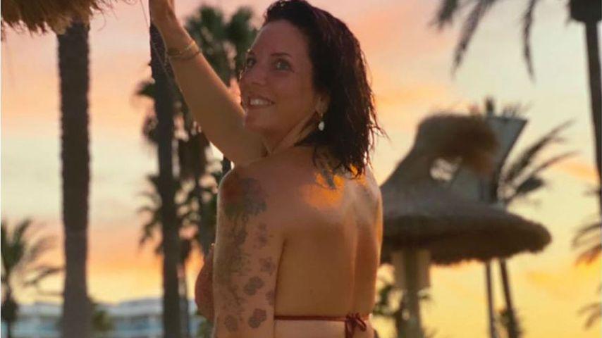 Daniela Büchner auf Mallorca im September 2020