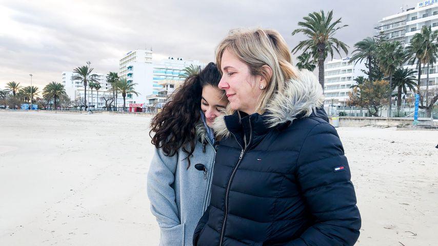Daniela Büchner mit ihrer Tochter Jada