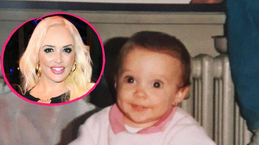 Baby mit Kulleraugen: So niedlich war Dani Katzenberger!