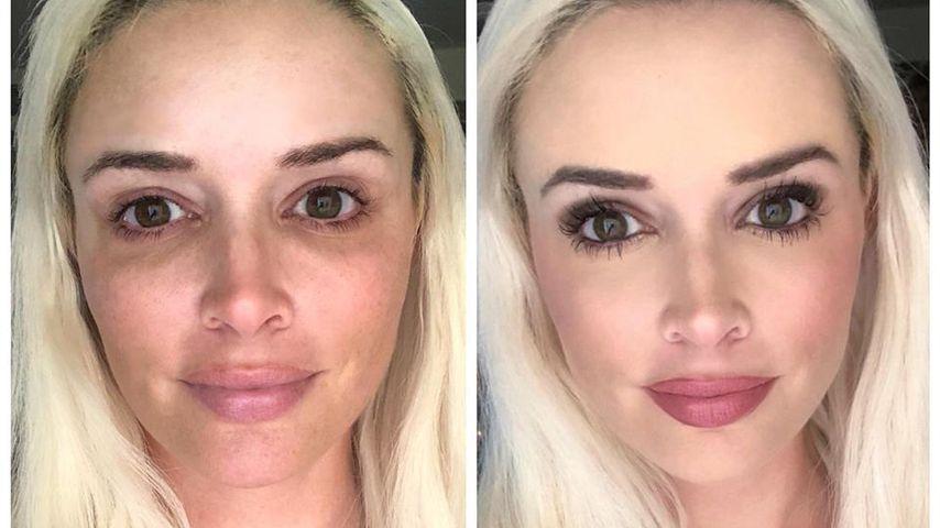 So verwandelt Dani Katzenberger ihr Gesicht in 45 Minuten