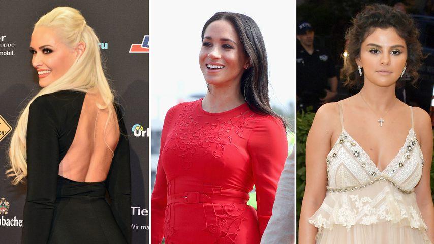 Katze, Meghan, Selena & Co.: Die peinlichsten Outfits 2018