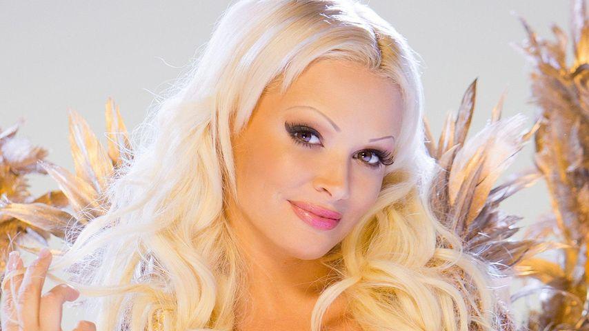 Traumhaft: Daniela Katzenberger als blonder Engel