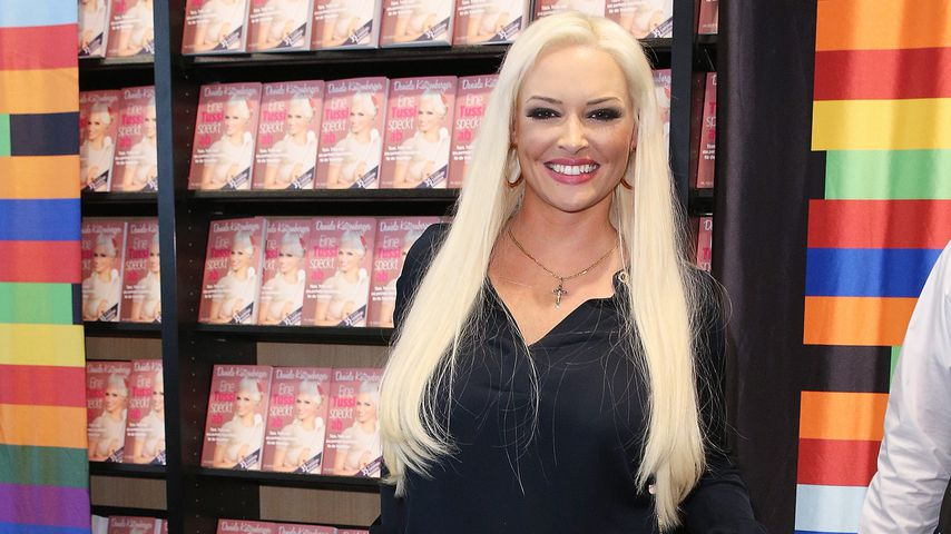 Daniela Katzenberger bei ihrer Buchpremiere im Jahr 2017