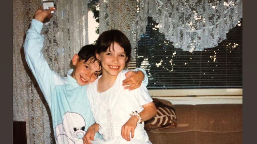 Daniela Katzenberger und ihr Bruder Tobias