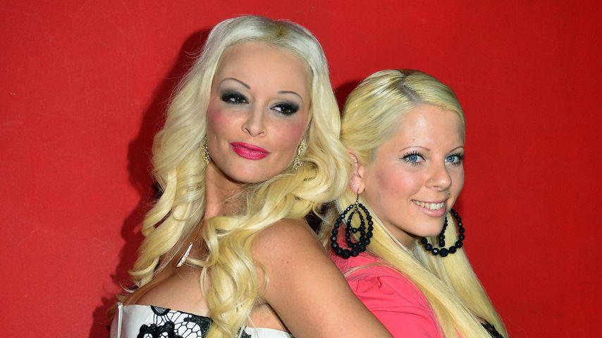 Die Halbschwestern Daniela Katzenberger und Jennifer Frankhauser 2014