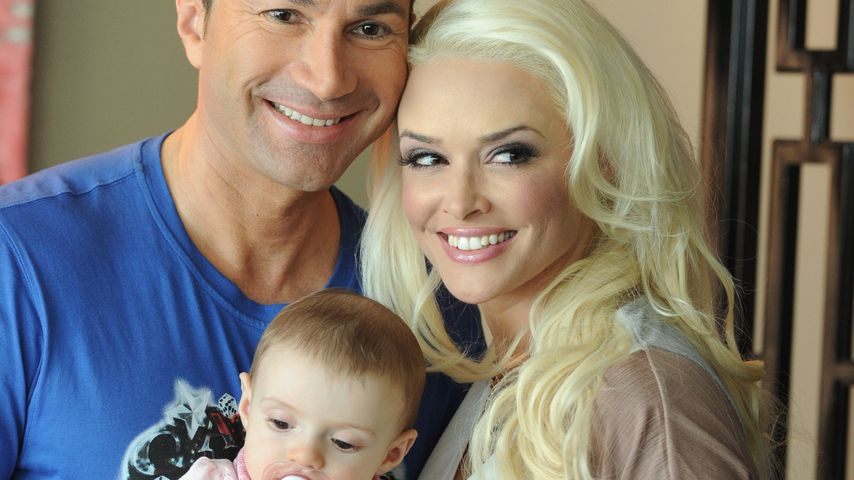 Lucas Cordalis und Daniela Katzenberger mit Tochter Sophia