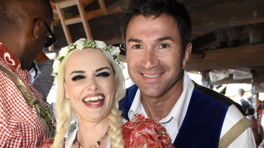 Daniela Katzenberger und Lucas Cordalis auf dem Oktoberfest 2018