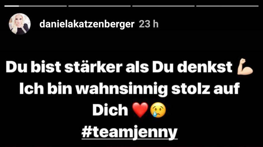 Daniela Katzenbergers Instagram-Post