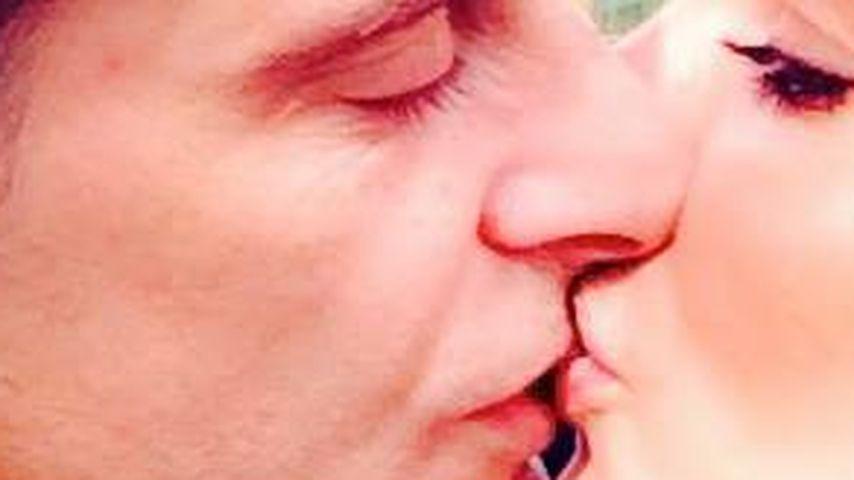 """Total verliebt! Bachelor-Daniela postet """"Kiss-fie"""""""