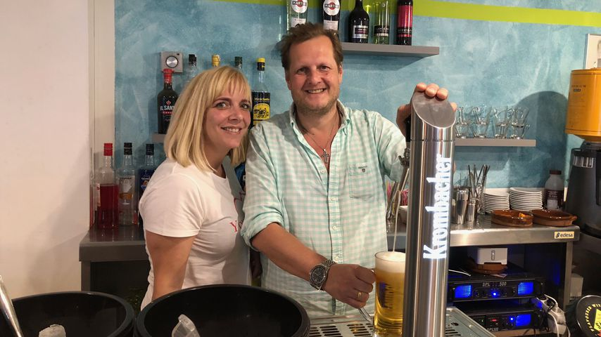 Daniela und Jens Büchner in der Faneteria