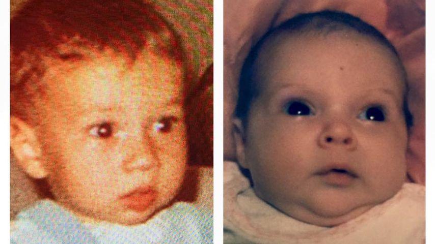 So sahen Lucas Cordalis & Daniela Katzenberger als Babys aus