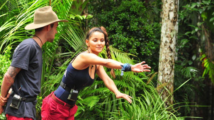 Daniele Negroni und Kattia Vides an Tag 11 im Dschungelcamp