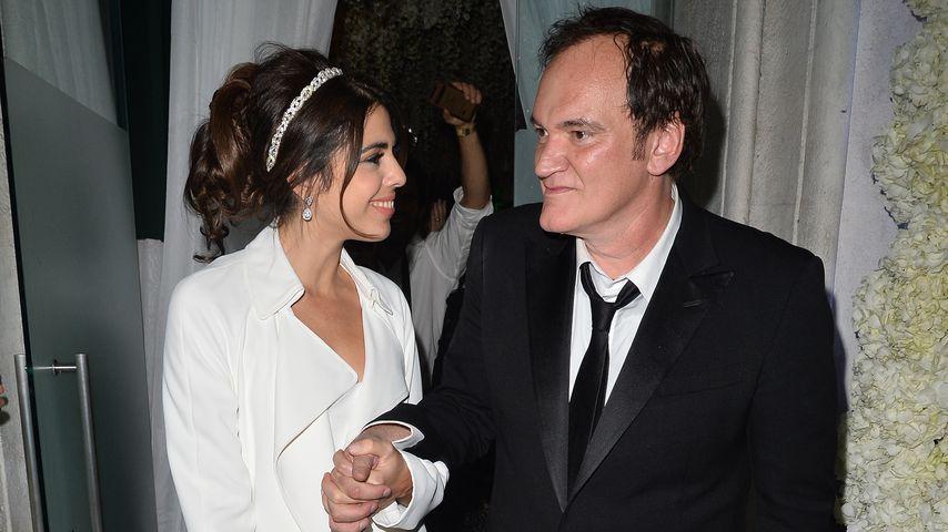 Daniella Pick und Quentin Tarantino