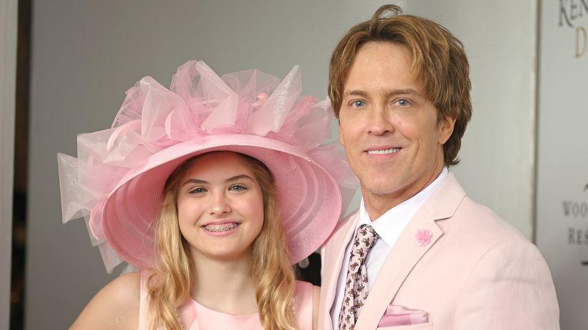 Dannielynn und ihr Vater Larry Birkhead