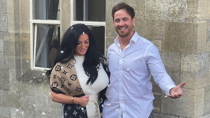 Danny Cipriani mit seiner Ehefrau Victoria