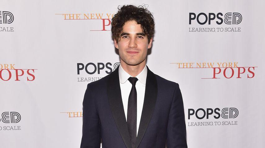 Darren Criss in New York City
