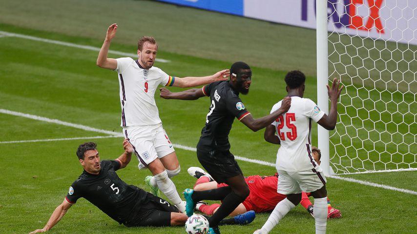 Das EM-Spiel Deutschland gegen England
