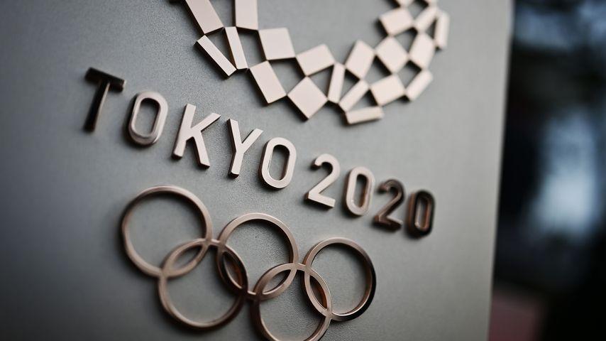 Das Logo der Olympischen Sommerspiele in Tokio 2020